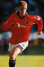 Football photo > Nicky Butt Man Utd 1995-96