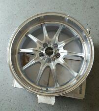 Kyowa Racing Series 656 Trek10 17x7.5 +45 5x100 Silver Machined Rim