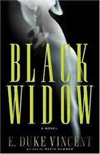 BLACK WIDOW E. Duke Vincent stated 1st US Ed 2007 Mystery Hardcover & Jacket