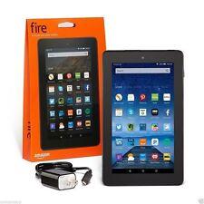 Amazon Kindle Fire 7 inch IPS 8 GB Black w/ Front & Rear Camera - New 2015 Model