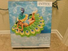New Intex Peacock Island pool float