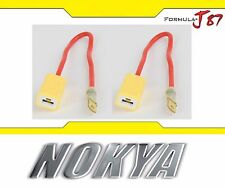 Nokya Wire Harness H1 NoK9123 Head Light Bulb High Beam Socket Plug Play Replace