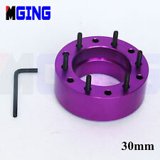 30MM  STEERING WHEEL PAD SPACER HUB ADAPTER GASKET 6BOLTS ALLEN KEY