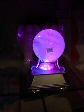 quartz sphere on light box complete lb1