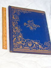 CLASSIC BARITONE AND BASS SONGS, beautiful hard bound gold gilt 19th cent. book