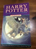 harry potter and the prisoner of azkaban paperback, First Edition, Firstprint.