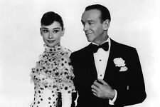 Audrey Hepburn and Fred Astaire in Funny Face 11x17 Mini Poster