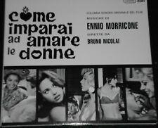 Ennio Morricone COME IMPARAI AD AMARE LE DONNE OST CD