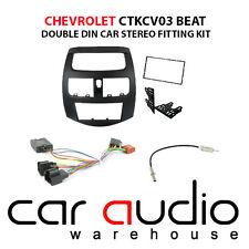 Chevrolet Spark 2010-12 Car Stereo D/Din Fascia Steering Wheel Interface CTKCV03