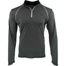 ASICS Mens Long Sleeve Athletic Apparel Top Quarter-Zip Size XL $65