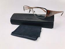 ✳New Authentic Prada VPR 52I 1BI-1O1 Brown Eyeglasses 53mm with Case