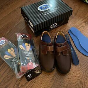 Dr Comfort Acorn Annie Diabetic Shoes Womens Size 9W Brown