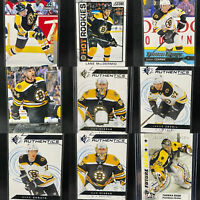 Boston Bruins 27 Card Rookie Lot🔥Carlo Raask Debrusk Clifton Vladar SP Jersey