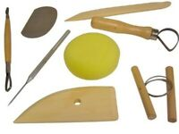8 Piece Clay Sculpting Tools Great For Art Projects Pottery Carving Kit Sets