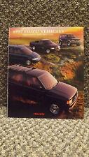 1997 Isuzu Trooper,Rodea,Oasis,Hombre Original Dealers Auto Brochure