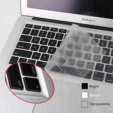 Cubierta Protectores Teclado Silicona Colores Funda Macbook Pro Air Mac (CON Ñ)