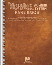 The Nashville Number System Fake Book Sheet Music Real Book Fake Book 000143189