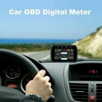 A501C HUD Display Onboard Computer OBD2 Fuel Consumption Speedometer Car Diagnos