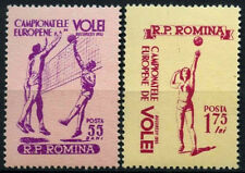 Romania 1955 SG#2377-8 Volleyball Championships MNH Set #D34983