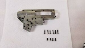 Krytac Trident Nautilus V2 Gearbox Shell w/ Bearings and Screws for Airsoft AEG