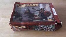 Warhammer Dwarf Warrior Set spares in original box