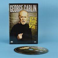George Carlin - It's Bad For Ya - Standup Comedy DVD - you - GUARANTEED