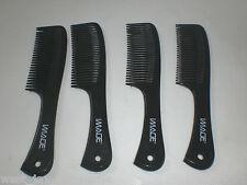 IMAGE New Hair Comb Plastic Styling  hair dresser hairdresser Salon Barbers x 4