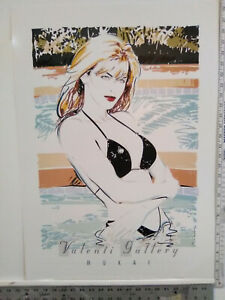 "DENNIS MUKAI ""SUMMER"" Limited Edition Lithograph - Mirage Editions"