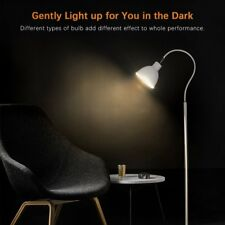 LED Floor Lamp, Arc Elbow Pipe and Metal Modern Design with Adjustable Lamp Head