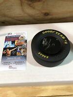 NASCAR Hailie Deegan Autographed Signed Mini Tire JSA Certified