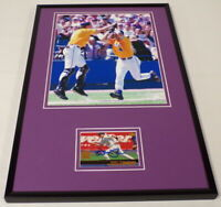 Warren Morris Signed Framed 11x17 Photo Display LSU World Series HR