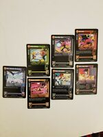 Dragon Ball Rare Collectible Cards 2004 #53,119,181,98,162,114,68 All together