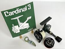 Vintage Zebco Cardinal 3 With Two New Spools, Manual and Tool. S/N 750800.