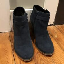 Sole Society Bootie - SUEDE  Navy 9M
