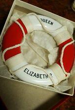 Vintage Queen Elizabeth 2 Life Preserver Miniature In Original Box