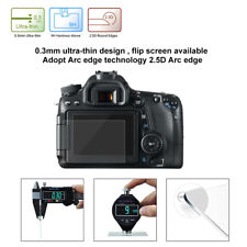 1 X 9H Tempered Glass Film Camera LCD Screen Protector For Canon EOS 650D/70D