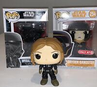 Funko Pop Star Wars Rogue One Imperial Death Trooper  #144 Dryden Gangster Solo