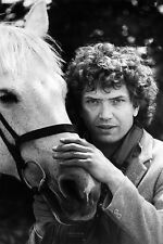 Martin Shaw As Doyle In The Professionals 11x17 Mini Poster Posing With Horse.