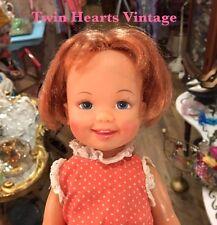 Crissy Family Cinnamon Doll Velvet's Little Sister Original Dress And Shoes