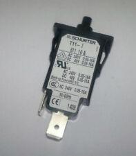 T11-611-10 Thermal Circuit Breaker, T11 Series, 240 VAC, 48 VDC, 10 A
