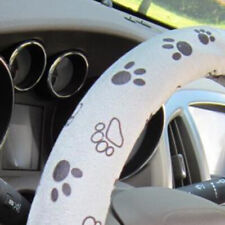 Auto Car Steering Wheel Cover Lovely Cute Paw Printed 38cm/15 For Women Girls