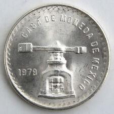 Mexiko 1 Onza de Plata Pura 1979 Silber Münzpresse/Münzwaage UNC (1 oz Ag)