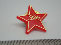 Lilly red star Vintage Lapel Pin