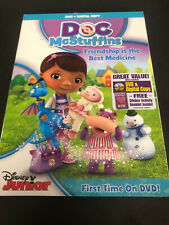 DISNEY JUNIOR - DOC MCSTUFFINS , FRIENDSHIP IS THE BEST MEDICINE  (  DVD )