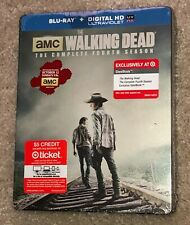 The Walking Dead The Complete Fourth Season Target Exclusive Steelbook Blu-ray 4