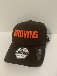 Cleveland Browns NFL Football NewEra 9FORTY Snapback Brand New Hat Cap Brown