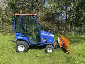 Iseki Txg237 Compact Tractor Full Cab Snow Plough