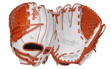 "2019 Lefty Rawlings RLA125-18WO 12.5"" Liberty Advanced Wh/ Orange Softball Glove"