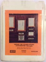 Emerson Lake & Palmer 8 Track Tape Pictures At An Exhibition Mussorgsky