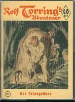 Rolf Torring´s Abenteuer Nr.167 von 1956 - TOP Z0-1 ORIGINAL ROMANHEFT RARITÄT